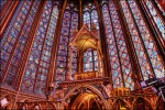 Sainte-Chapelle in Parijs