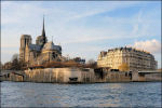 Île de la Cité in Parijs