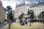 Place Dauphine in Parijs
