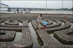 Labyrint op de Waalkade