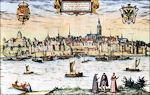Nijmegen op oude prent