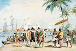 Adriaan Groenewegen: Cornelis de Houtman komt aan in Bantam