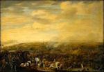 Slag bij Nieuwpoort door Pauwels van Hillegaert