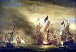 Willem van de Velde: De Slag bij Solebay