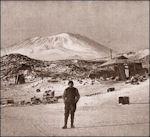 Winterkwartier bij kaap Royds met Shackleton