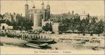 Tower van Londen vanaf de Theems in 1905