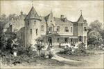 Kasteel Nederhemert omstreeks 1850
