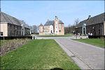 de Cannenburgh in Vaassen, het kasteel met de beide bouwhuizen