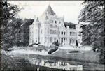 Kasteel Sandenburg in Nederlangbroek in begin twintigste eeuw