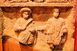 Romaans reliëf in Thermenmuseum