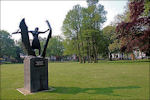 Hannie Schaft Munument in Haarlem