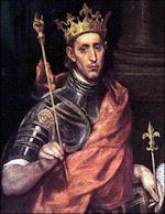 Koning Lodewijk IX de Heilige