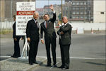 Richard von Weizsäcker, Ronald Reagan en Helmut Schmidt