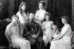 De familie Romanov in 1911