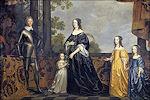 Frederik Hendrik met familie