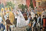 huwelijksceremonie van Elisabeth in Beieren