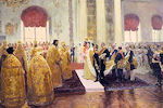 bruiloft van Nicolaas II en Alexandra