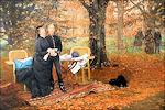 James Tissot: Keizerin Eugénie met haar zoon, 1878
