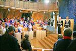 Koning Harald V opent Sameting