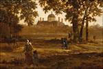 Joris van der Haagen: Het Haagse bos met gezicht op Paleis Huis ten Bosch