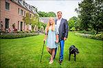 Prinses Amalia en koning Willem-Alexander