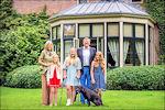 Koning Willem-Alexander en zijn gezin