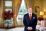Willem-Alexander tijdens kersttoespraak