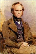 Charles Darwin door G. Richmond