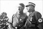 Adolf Hitler en Ernst Röhm