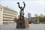 Verwoeste Stad Rotterdam Zadkine